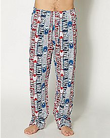 Captain America Civil War Lounge Pants