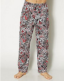 Marvel Comic Lounge Pants