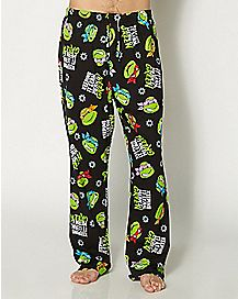 Lean Mean Green Lounge Pant - TMNT
