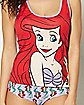 Ariel Disney Tank and Panty Set