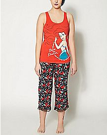 Ariel Disney Pajama Set
