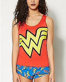 Wonder Woman DC  Pajama Set