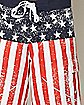 Distressed USA Boardshorts