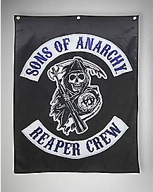 Reaper Crew Sons of Anarchy Banner
