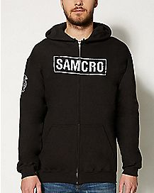 Sons Of Anarchy Samcro Zip Hoodie