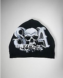Skull Sons Of Anarchy Baby Beanie