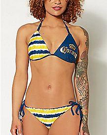 Tye Dye Coroma Triangle Bikini Swimsuit