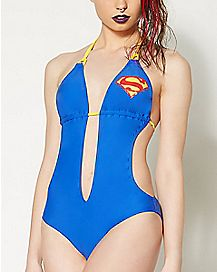 Plunge Supergirl Monokini Swimsuit