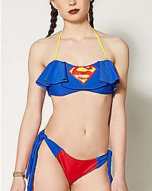 Supergirl Bandeau Bikini - DC Comics