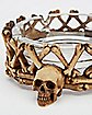 Skull & Bones Glass Ashtray