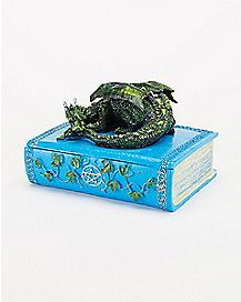 Green Dragon Book Storage Box