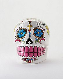 Sugar Skull Day of the Dead Bank