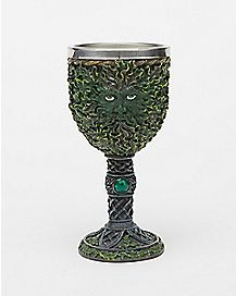 Green Man Chalice 8 oz
