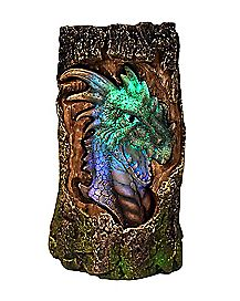 LED Dragon Log