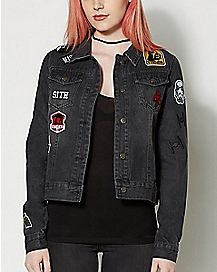 Dark Side Star Wars Patch Denim Jacket