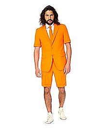 Orange Summer Party Suit