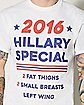 2016 Hillary Special T shirt