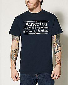 America Designed T shirt