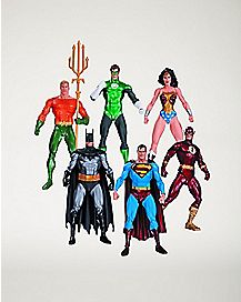Justice League Action Figure 6 Pack - DC Comics