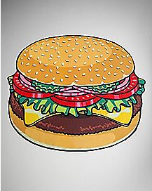 Burger Beach Blanket Towel