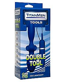 TitanMen Double Tools Vibrating Butt Plug