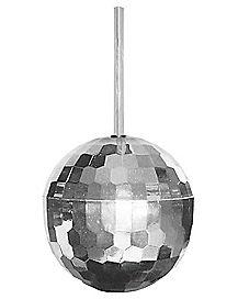 Silver Disco Ball Cup