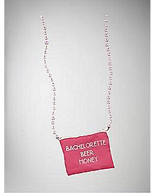 Bachelorette Beer Money Necklace