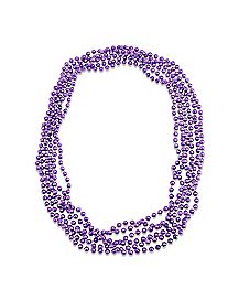 Purple Bachelorette Beads