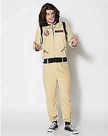 Adult Ghostbusters Uniform One-Piece Pajamas