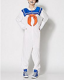 Stay Puft Ghostbusters One-Piece Pajamas
