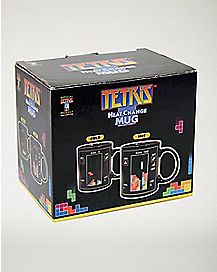 Heat Change Tetris Coffee Mug - 12 oz.