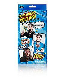 Superhero Selfie Prop