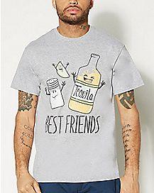 Salt Lime Tequila Best Friends T shirt