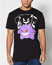 In The Shadow Gengar Pokemon T Shirt