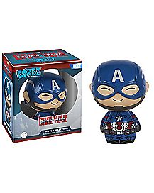 Captain America Marvel Civil War Dorbz Figure