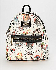 Loungefly Tattoo Star Wars Mini Backpack