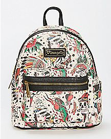 Loungefly Tattoo Mini Backpack