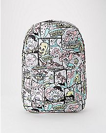 Loungefly Comic Print Ariel Backpack - The Little Mermaid