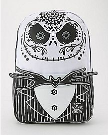 Loungefly Sugar Skull Jack Face Nightmare Before Christmas Backpack