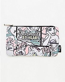 Comic Print Ariel Coin Bag