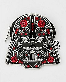 Rose Darth Vader Coin Bag