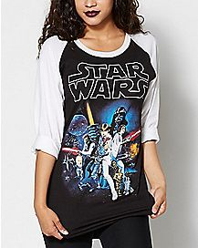 Star Wars Raglan T Shirt