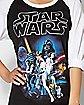 Star Wars Raglan T Shirt