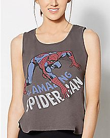 Crawl Spider-Man Marvel Muscle Tank Top