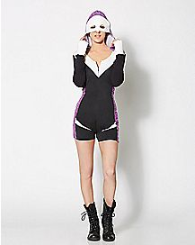 Spider-Gwen Hooded Romper - Marvel Comics