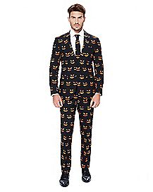 Adult Black Jack O'Lantern Suit