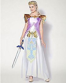Adult Princess Zelda Costume Deluxe - Legend of Zelda