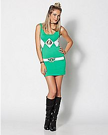 Green Power Ranger Dress