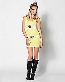 Yellow Power Rangers Dress