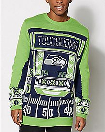 NFL Seattle Seahawks Light Up Sweater